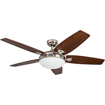 Amazon honeywell carmel 48 inch ceiling fan with integrated honeywell carmel 48 inch ceiling fan with integrated light kit and remote control five aloadofball Gallery