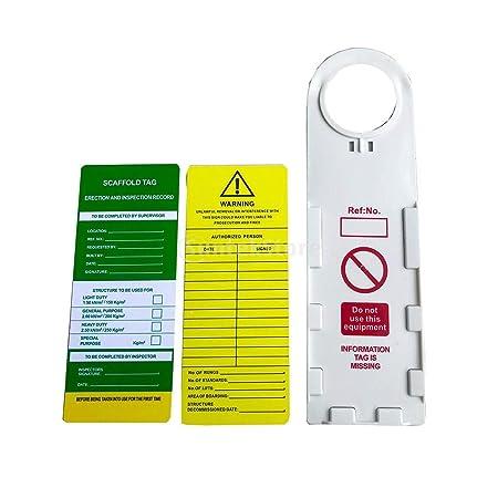 Etiqueta de Emergencia de Accidentes Tarjeta de Seguridad y ...
