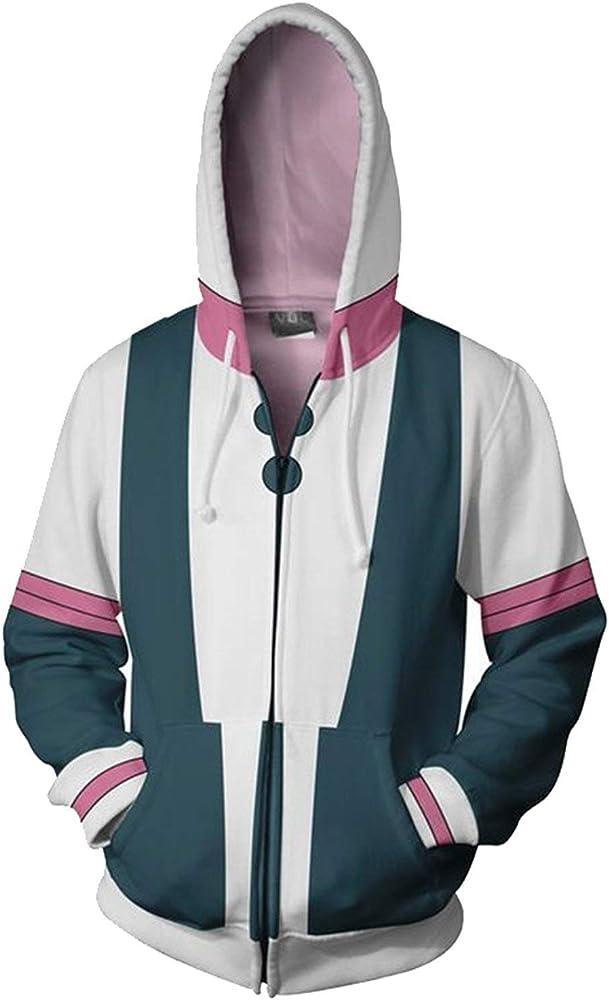My Hero Academia Bakugou Izuku Midoriya Sweatshirt Hoodie Jacket Cosplay Coat