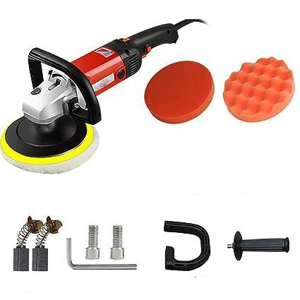 Seababyhouse Máquina Pulir Pulidora Limpieza Profesional, Lijadora eléctrica del pulidor del almacenador de la lijadora