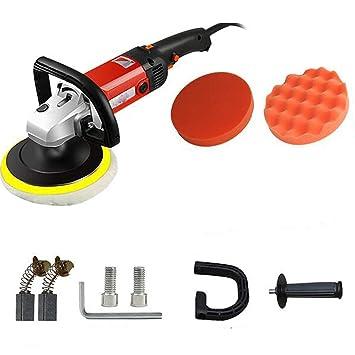 Seababyhouse Máquina Pulir Pulidora Limpieza Profesional, Lijadora eléctrica del pulidor del almacenador de la lijadora máquina para la reparación del ...