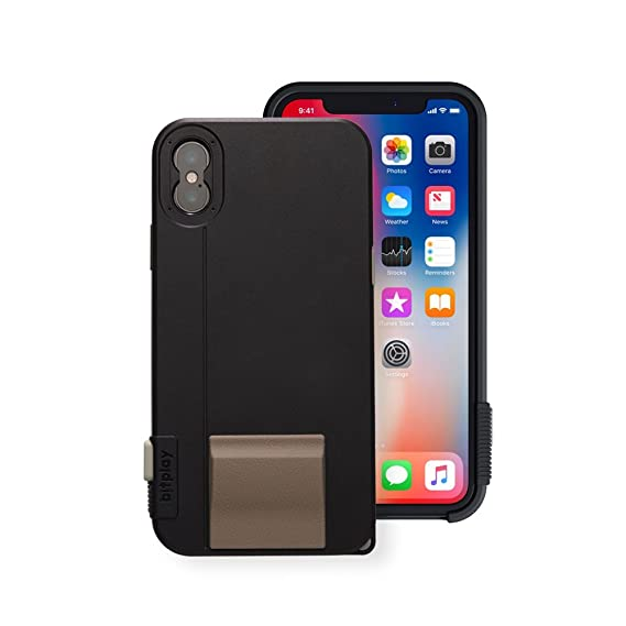 6c1ad79d8a88 Amazon.com  bitplay SNAP! X Noir Black - Camera Case for iPhone X ...
