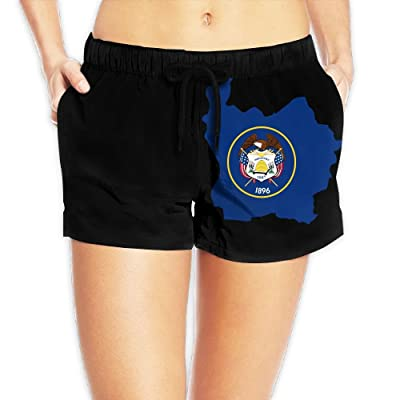 Women's Utah Summer Loose Fit High Waisted Beach Wear Shorts Hot Pants