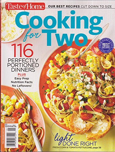 (Taste of Home Cooking for Two Magazine Summer (2018) 116 Perfectly Portioned Dinners)