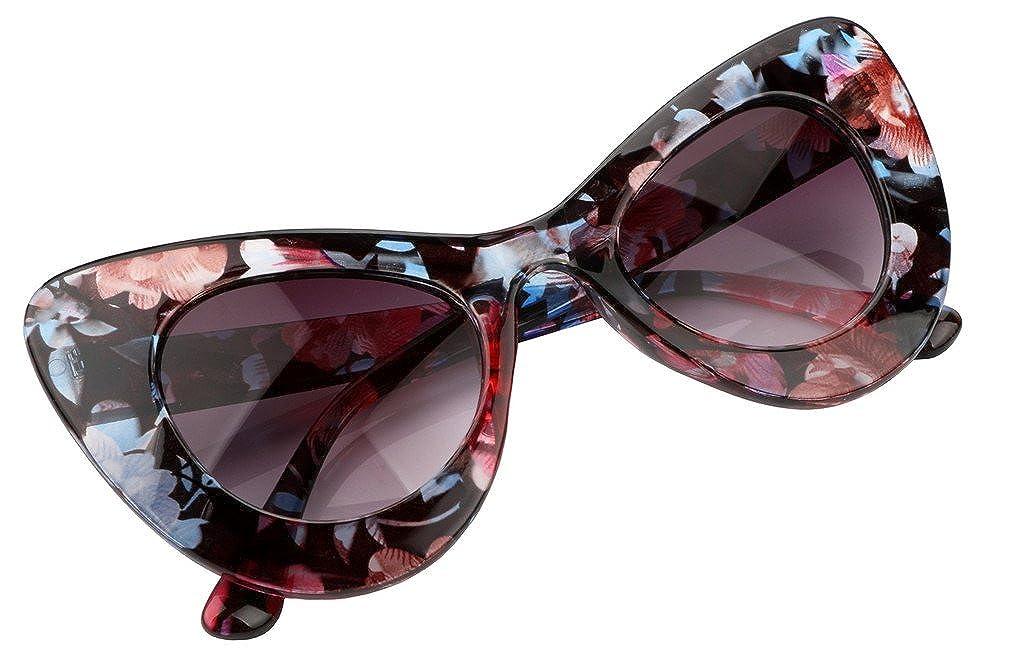 FEISEDY Lenti in policarbonato per occhiali da vista Cat Eye Retro Acetate B2239