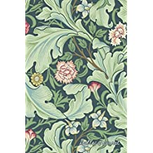 Bullet Journal: Beautiful Green Vintage Floral Print - Bullet Journal  | Dot Grid Pages (Journal, Notebook, Diary, Composition Book)