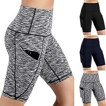e6b06b629e Legging De Sport Pantalon De Sport Femme Short De Yoga,Mounter Women Taille  Haute Pantalons
