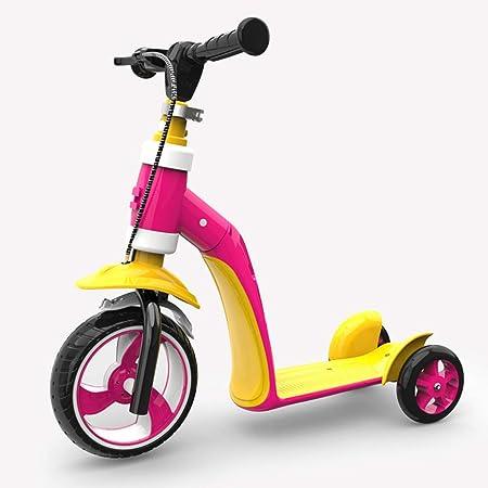 LWKBE Triciclo Convertible 2 en 1, Bicicleta de Equilibrio ...