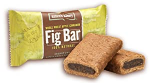 Nature's Bakery Whole Wheat Fig Bar, Apple Cinnamon, 2 Ounce (Pack of 12)
