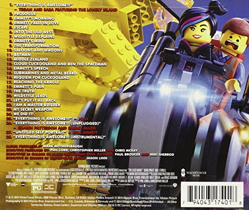 The Lego Movie: Original Motion Picture Soundtrack