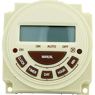 Intermatic Pb374E Timer, 240V Spst 7-Day Digital Panel Mount Pool & Spa Timer: Industrial & Scientific