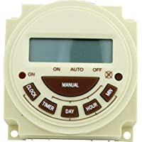 Intermatic Pb374E Timer, 240V Spst 7-Day Digital Panel Mount Pool & Spa Timer