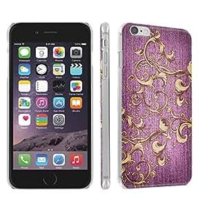 Skinguardz Iphone 6 (4.7) (Jeans-Pink) Ultra Slim Light Weight Plastic Cover Case