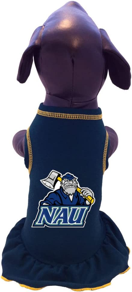 NCAA Northern Arizona Lumberjacks Cheerleader Dog Dress XX-Large