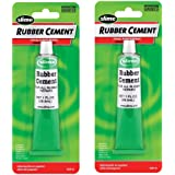 Slime 1051-A Rubber Cement - 1 oz.2 Pack