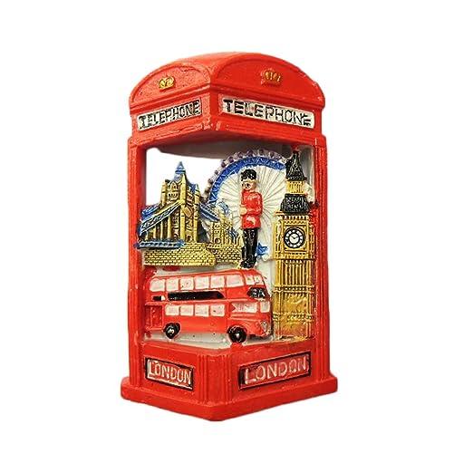 MUYU Magnet Adhesivo para Nevera, diseño de Londres en 3D, diseño ...