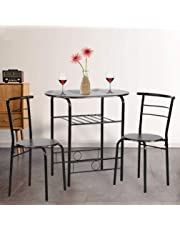 3 piece kitchen table bistro table price6299 dining kitchen table set3 piece metal chair sets amazoncom