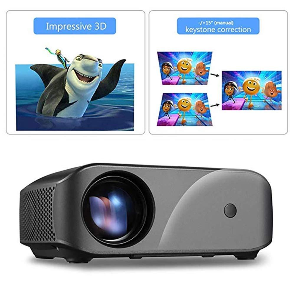 Zichen Proyector LCD F10 Proyector de Video for Entretenimiento en ...