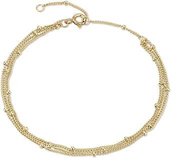 Holiday Gift For Her 925 Sterling Silver Bracelet Simple Gold Bracelet Charm Link Bracelet Dainty Silver Curb Link Zircon Chain Bracelet