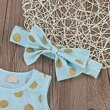 Slinkaslp Newborn Baby Girl Polka Dot Bodysuit