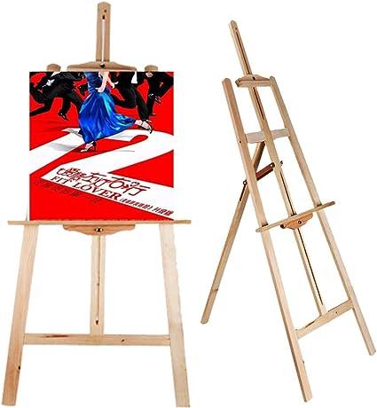 thebestshop99 - Caballete de madera para dibujo, pintor, trípode de piso de lira: Amazon.es: Juguetes y juegos