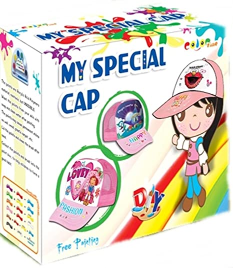 Amazon Diy Cap Painting For Kids Baseball Hat Arts And Crafts