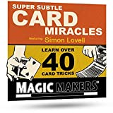 Magic Makers Super Subtle Card Miracles - 40 Amazing Card Tricks
