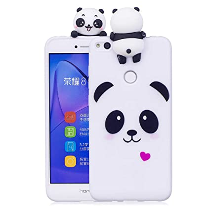 Amazon.com: Huawei P8 Lite 2017 Case, Silicone Slim Cute 3D ...