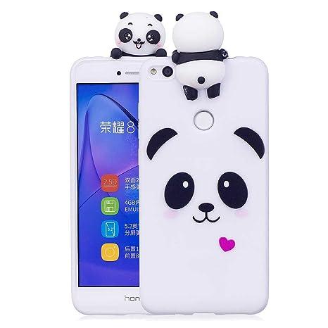 Amazon.com: Huawei P8 Lite funda de 2017, silicona Slim ...