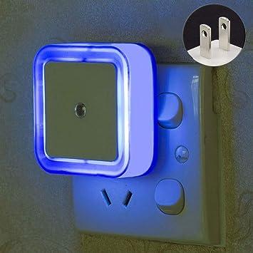 Amazon.com: Luz de noche con sensor de movimiento para ...