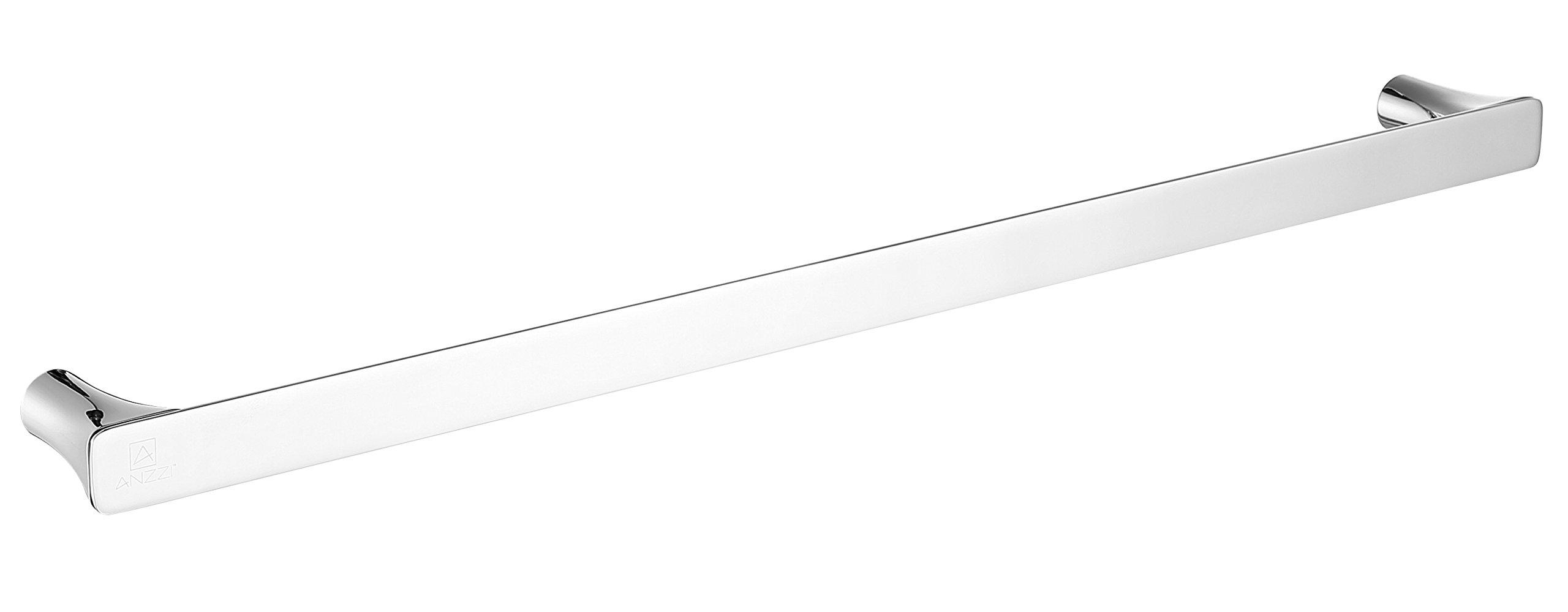 25.13'' Towel Bar - Polished Chrome - Essence Series AC-AZ052 - ANZZI