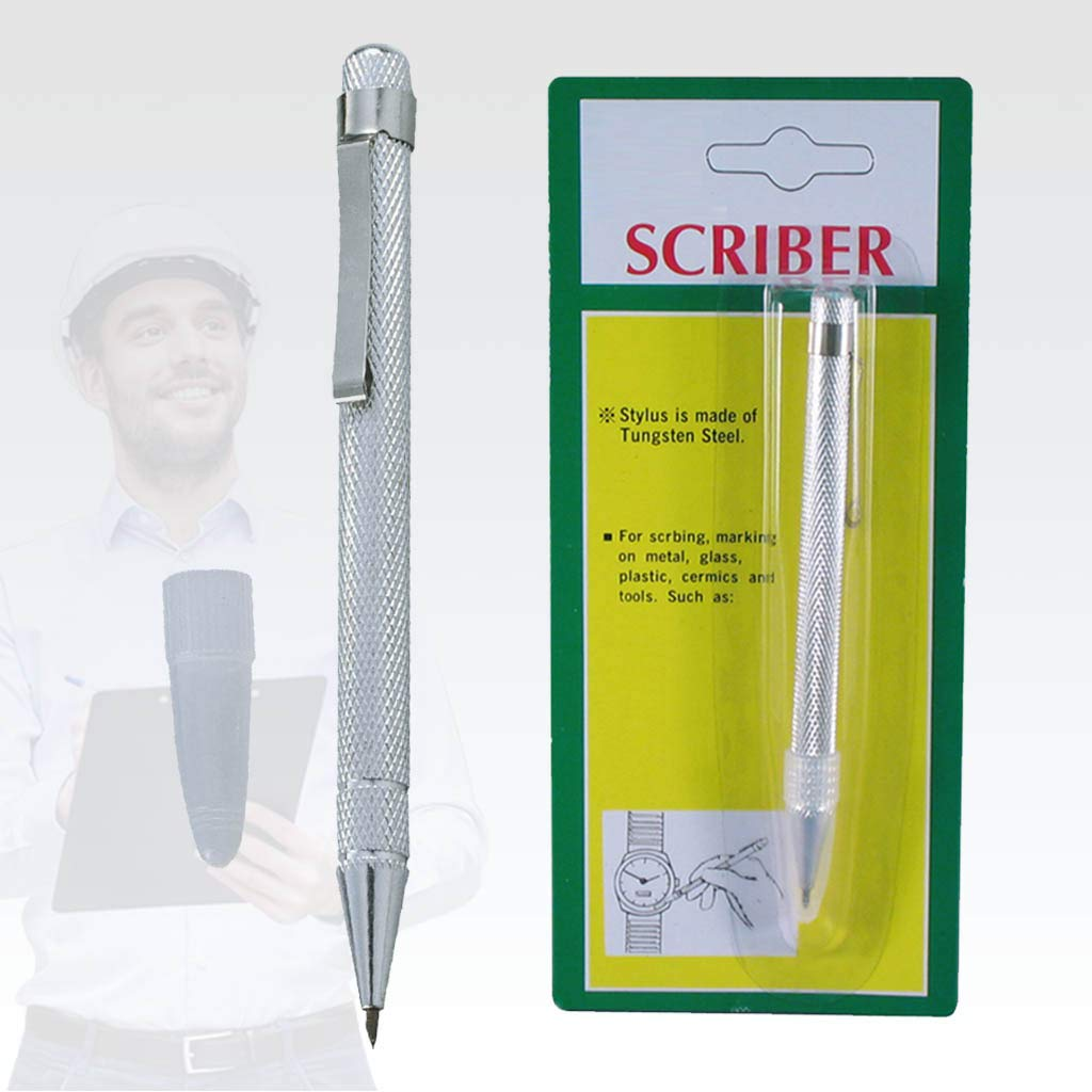 FIRSTINFO Tungsten Steel Scriber with Pocket Clip for Metal Glass Ceramics by FIRSTINFO (Image #3)
