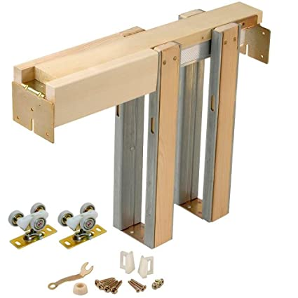 Johnson Hardware 1500 Series Pocket Door Frame Kit (24u0026quot; ...