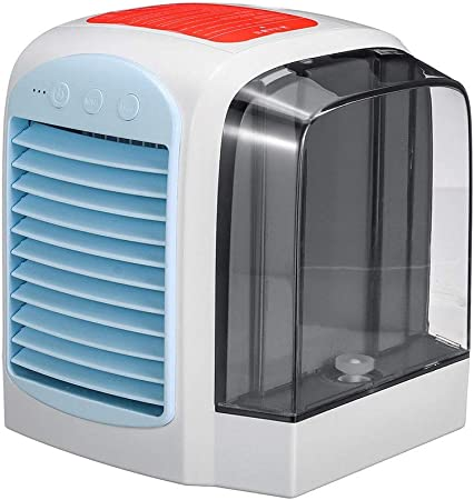 Guolipin Fans Mini Cool Bedroom Desk Portable Cooler Cube