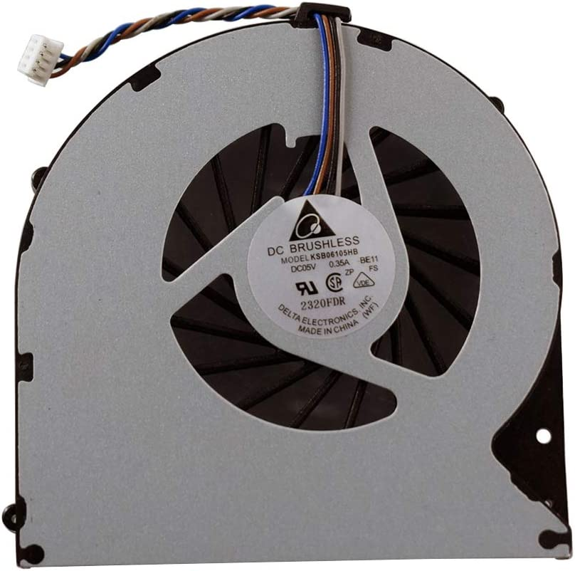 Rangale CPU Cooling Fan Compatible for Toshiba Satellite P870 P870D P875 P875-S7310 P875-S7102 P875-S7200 P875-S7310 P875 P875-31l Series KSB06105HB-BK41