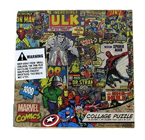 1000 piece super hero puzzle - 1