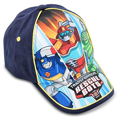 Hasbro Toddler Boys Transformers Rescue Bots Cotton Baseball Cap, Age 2-4