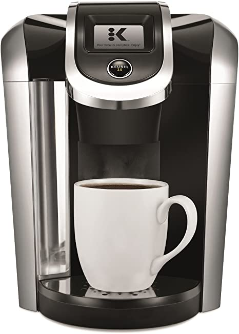 Amazon Com Keurig K475 Coffee Maker Single Serve K Cup Pod Coffee Brewer Programmable Brewer Black Kitchen Dining