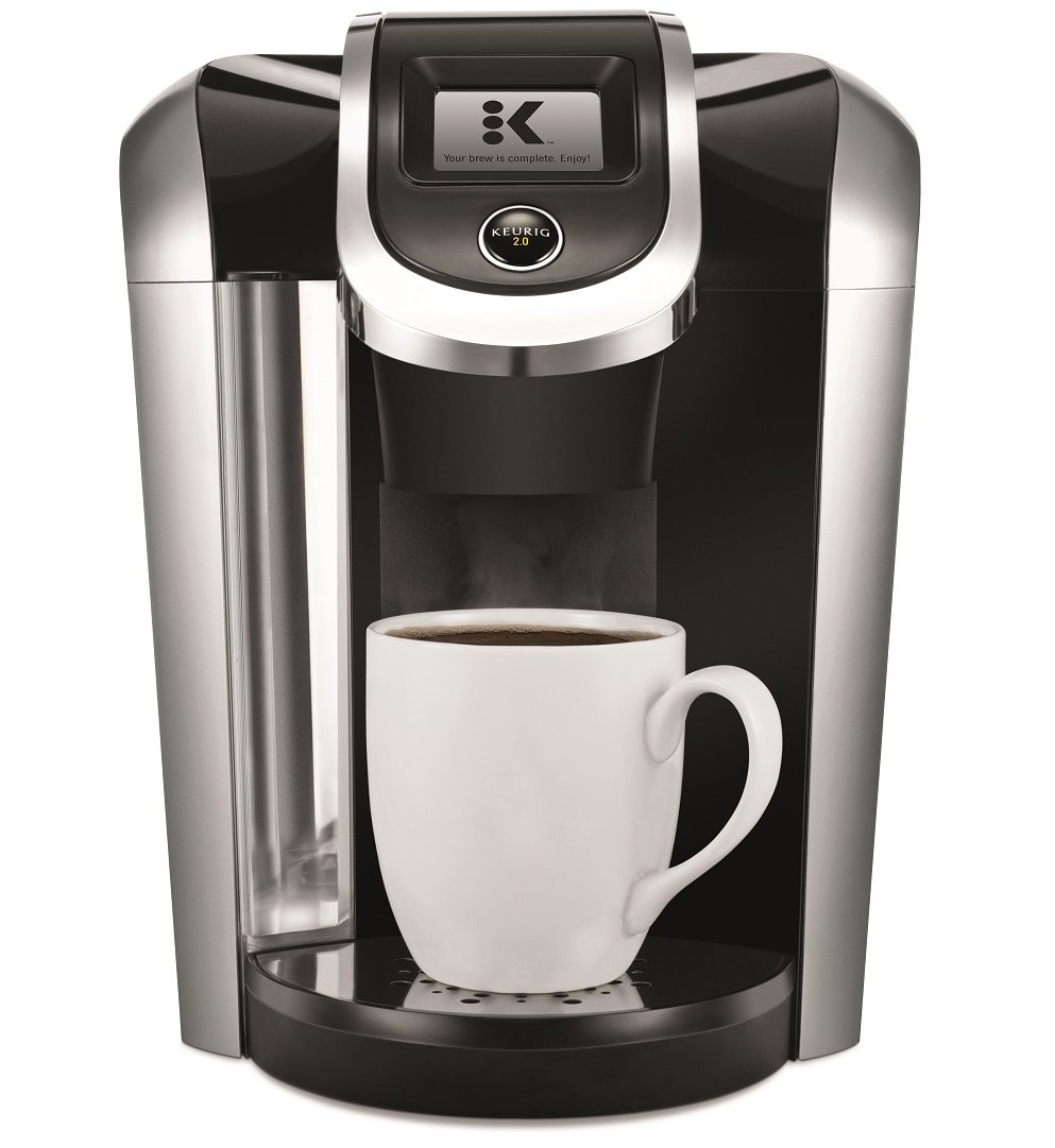 Amazon.com: Keurig K475 Single Serve K-Cup Pod Coffee Maker with 12oz Brew  Size, Strength Control, and temperature control, Programmable, Black:  Kitchen & ...