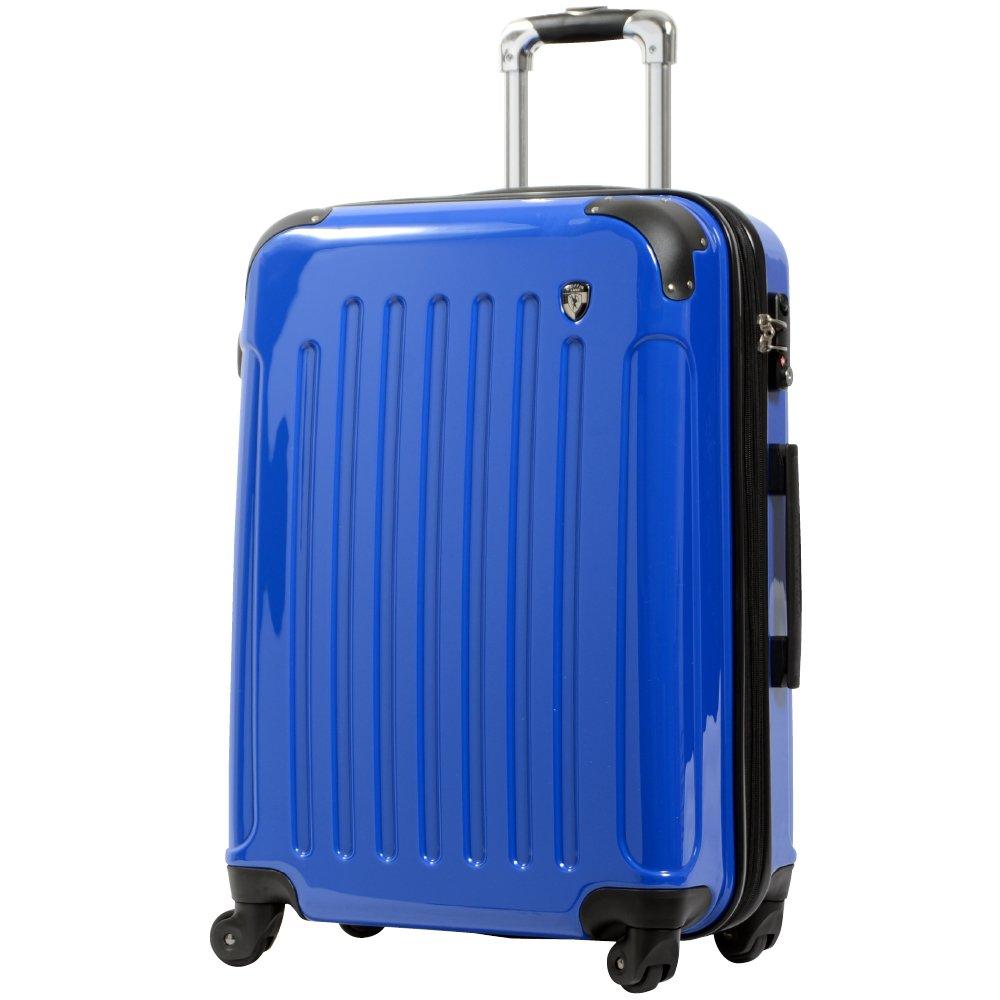 [グリフィンランド]_Griffinland TSAロック搭載 スーツケース 超軽量 ミラー加工 newFK1037 ファスナー開閉式 B003IMN0ZO S(小)型|ジャックブルー ジャックブルー S(小)型