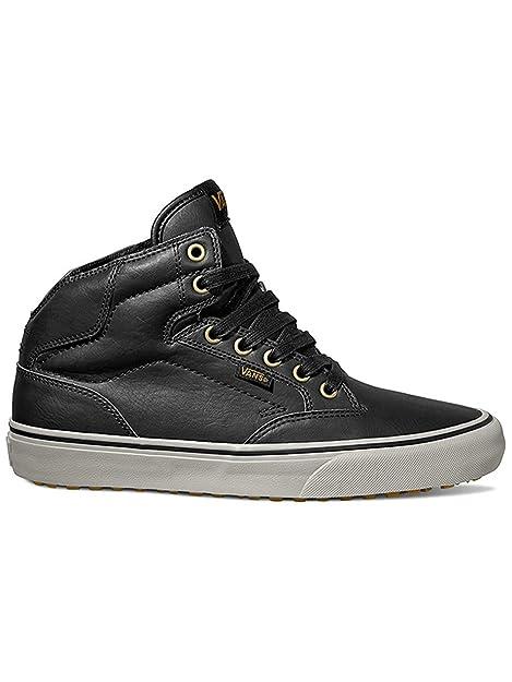 Winston Vans Édition Montagne Salut - Chaussures Noires Synthétiques Homme Noir, Couleur Noir, Taille 7.0