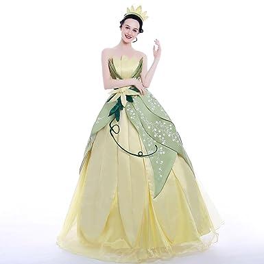 Princess Tiana Ball Gown