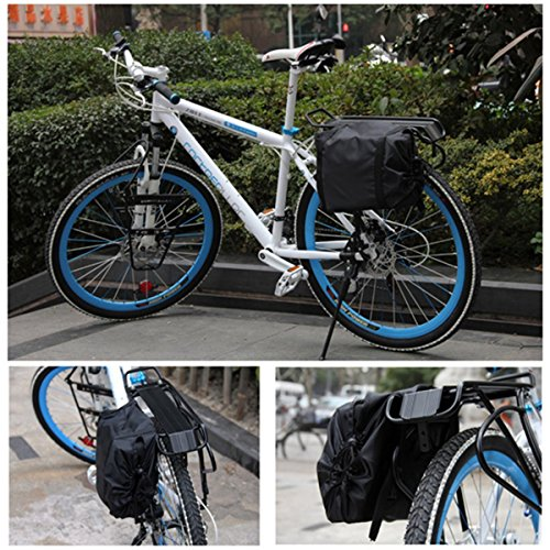 Topnaca Soft Mountain Road Bikes Travel Case Transport Bag Bicycle Carrying Case with Fork Protector for Outdoor Airplane by Topnaca (Image #8)