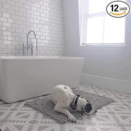 Moroccan Mosaic Tile House Ctp60 02 Tadla Handmade Cement Tile 8 X8 Gray White