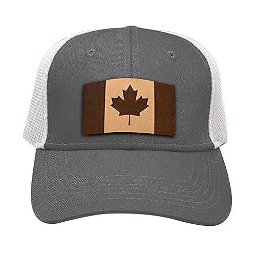 856d98d014e Amazon.com  Stoked Hats - Handmade Canada Trucker Snapback Style Baseball Custom  Patch Comfortable Hat