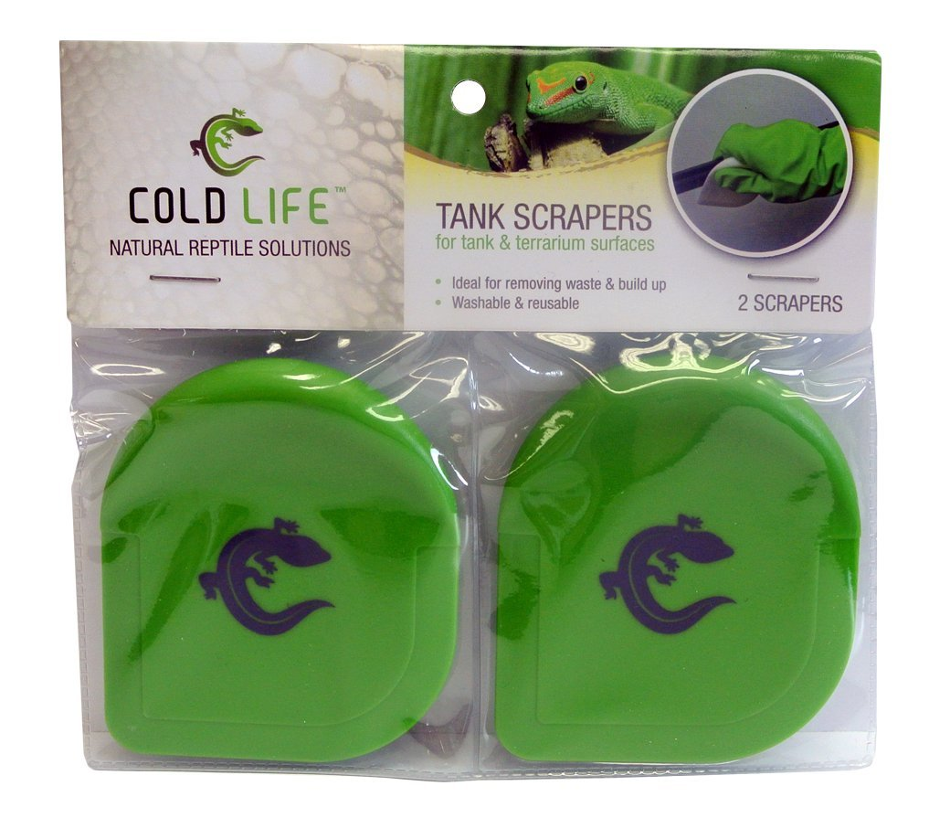 Cold Life Tank Scrapers for Reptile Tanks, 2 Count Royal Pet Incorporated 32010