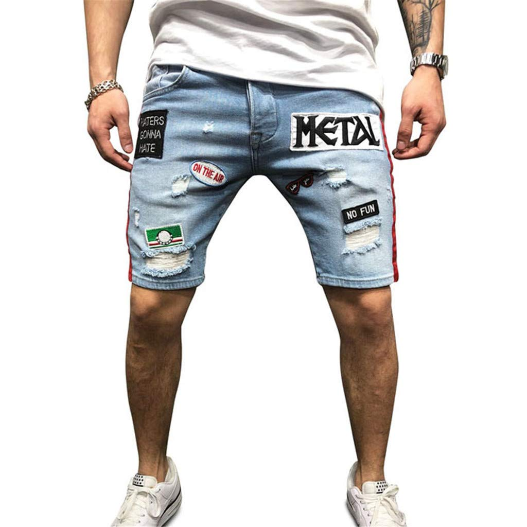 HucodeVan Pantalones Cortos Hombre, Verano Moda Casual ...