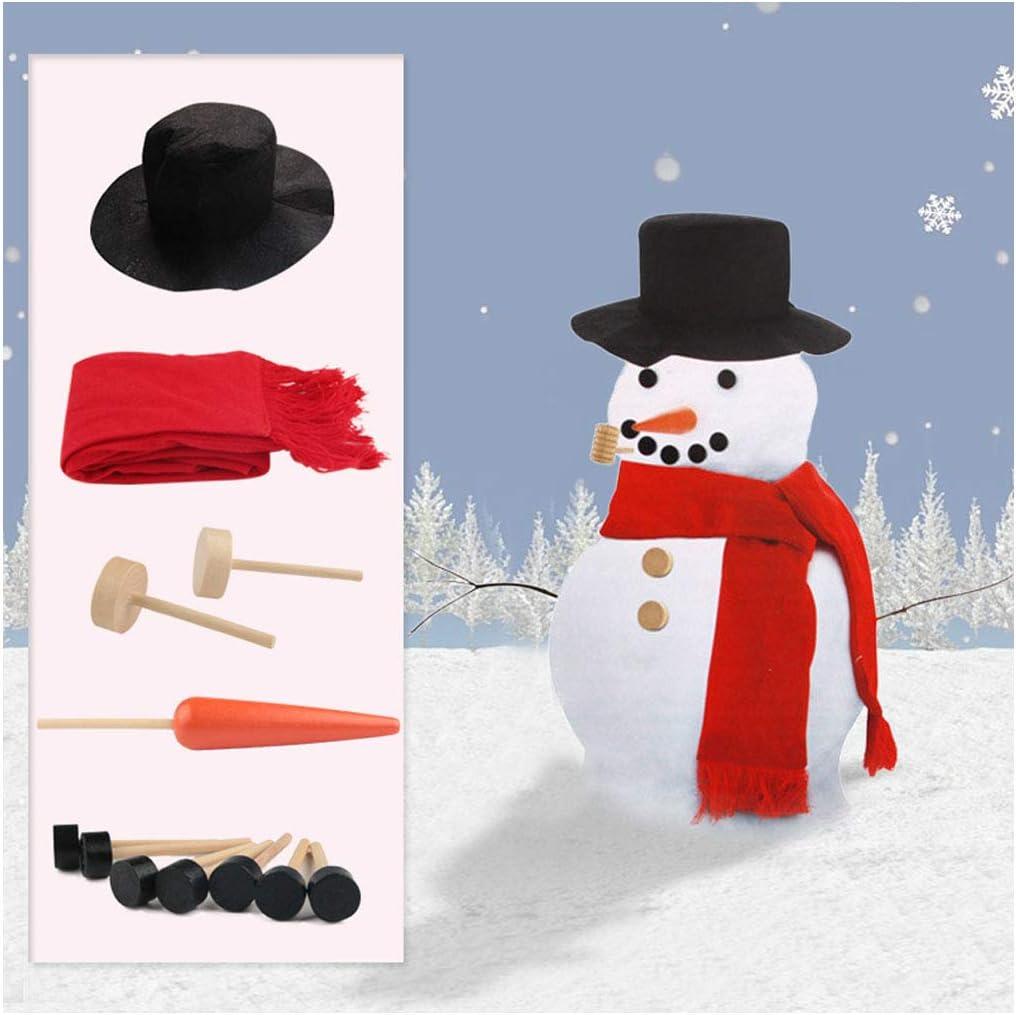 Celebrations Snowman Outdoor Decor White Fabric 1 pk