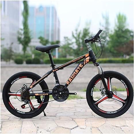 Link Co Bicicleta de montaña para niños Bicicleta 20 Pulgadas 27 Velocidad Choque Hombres y Mujeres Estudiantes Movimiento Coche: Amazon.es: Deportes y aire libre