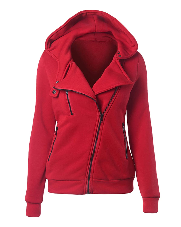 Female Hoodies Sweatshirt Long Sleeve Hooded Sudaderas Warm Women Tracksuit Harajuku Streetwear at Amazon Womens Clothing store: